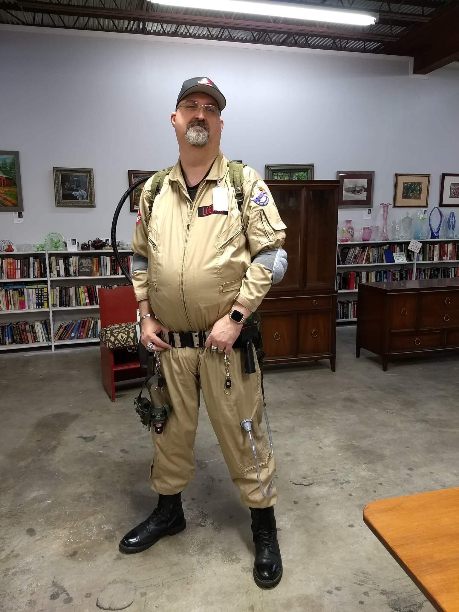 North Georgia Ghostbusters group co-founder Van Loggins